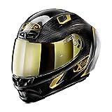 NOLAN (ノーラン) バイク用 ヘルメット フルフェイス Lサイズ(59-60cm) X-lite X-803RS ウルトラカーボン ゴールデンエディション(カーボン/33) 19820