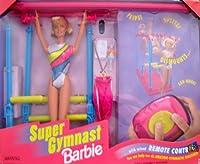 バービーSuper Gymnastバービー人形with有線リモートコントロールW Amazing体操ルーチン( 1999)