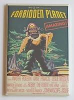 Forbidden Planet映画ポスター冷蔵庫マグネット( 2x 3インチ)