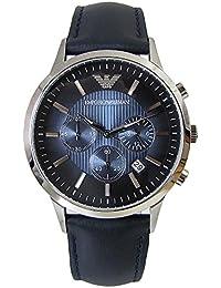 エンポリオ アルマーニ ARMANI クロノ クオーツ メンズ 腕時計 AR2473 ネイビーベルト [並行輸入品]