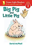 Big Pig and Little Pig (Green Light Readers Level 1)