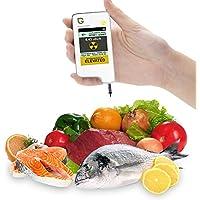 Greentest テストデジタル即時食べ物硝酸塩?放射線検出器。肉、果物、野菜用(白)