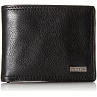 Relic by Fossil Men's Mark Leather Traveler Bifold Wallet, Black