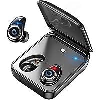 jiebolang Bluetooth5.0進化版 完全ワイヤレス イヤホン 2000mAh充電ケース付 HiFi高音質 通話可 多機種対応