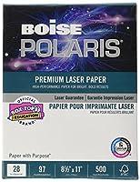 HD:P Presentation Laser Paper, 96 Brightness, 28lb, 8-1/2x11, White, 500/Ream (並行輸入品)