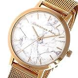 クリスチャンポール マーブル WHITEHAVEN レディース 腕時計 MRML-02 ローズゴールド/ホワイト [並行輸入品]