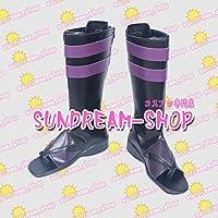 【サイズ選択可】女性25CMコスプレ靴 ブーツ260528一血卍傑-ONLINE-シュテンドウジ