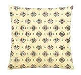 水彩シームレスなパターン印刷コットン装飾枕ケースVplc _ 03 18 x 18 inches VPLC_032140-19