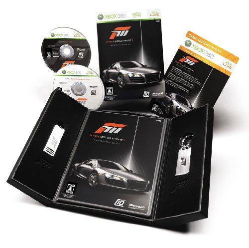 Forza Motorsport 3(フォルツァ モータースポーツ 3) リミテッドエディション(「特製USB メモリー」&「特製キーチェーン」&「DLCカード」同梱) 特典 スペシャルペイント「2010 Audi R8 5.2 FSI quattro」DLCカード付き