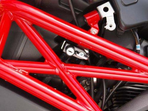 ベビーフェイス(BABY FACE) ヘルメットロック DUCATI MONSTER1100/796/696[モンスター] シルバー 009-LCD02SV