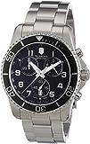 (ビクトリノックス) VICTORINOX Swiss Army スイスアーミー Men's 241432 Maverick GS Stainless Steel Chronograph Watch 男性腕時計 [並行輸入品] LUXTRIT