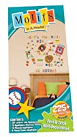 Motifs In A Minute Peel and Stick Value Pack Wall Decor Appliqu?s Sports [並行輸入品]