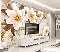 Weaeo 子供の部屋のためのカスタム写真の壁紙3Dエンボス宝石リビングルームテレビのソファの背景壁紙家の壁画の壁紙-200X140Cm