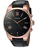 (ゲス)GUESS 腕時計 メンズ Men's CONNECT Smartwatch with Amazon Alexa and Genuine Leather Strap Buckle - iOS and Android Compatible - Rose Gold スマートウォッチユニセックス[並行輸入品]gellmoll