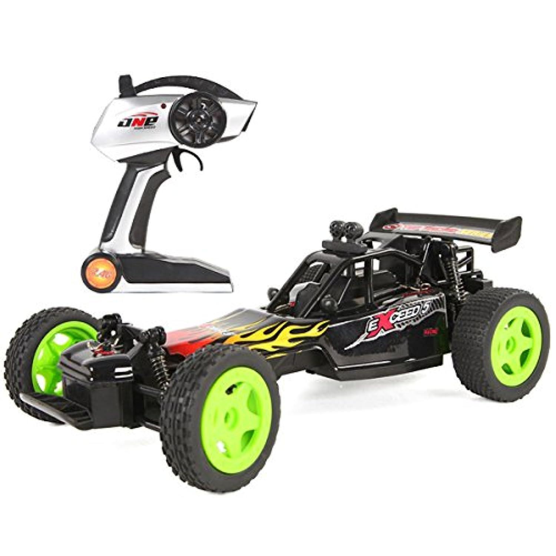 GPTOYS S603 2.4G ラジコンバギー 1/16スケール サンドバギー ラジコンオフロード スマートライト付き 約20km/h ブラック