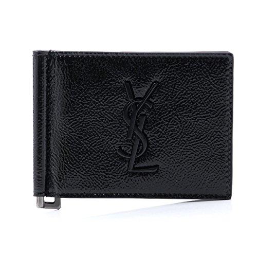 (サンローランパリ) SAINT LAURENT PARIS 二つ折り 財布 モノグラム・サンローラン [並行輸入品]