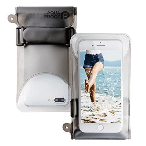 エレコム スマートフォン用防水・防塵ケース/セルフィー特化/Lサイズ/ブラック P-WPSS02BK 1個
