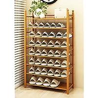 靴ラック竹スラット家庭ホームアセンブリ靴箱経済タイプ100%天然竹靴収納ラック (サイズ さいず : C2)
