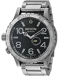 ニクソン NIXON 51-30 腕時計 A057-680 ALL GUNMETAL BLACK