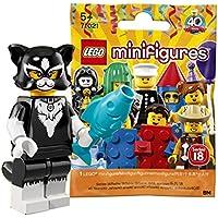 レゴ(LEGO) ミニフィギュアシリーズ 18 キャットガール【未開封】| LEGO Collectable Minifigures Series 18 Cat Costume Girl 【71021-12】