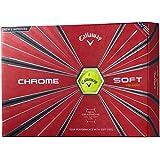 Callaway(キャロウェイ) ゴルフボール CHROME SOFT 2018年モデル 1ダース( 12個入り) 6421255122044