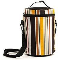 William お弁当袋 保温保冷バッグ ランチバッグ 大人と学生用 手提げカバン 通勤/学校に適用 持ち運び便利