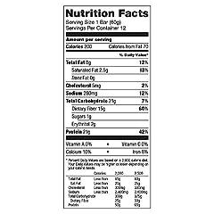 Quest Nutrition(クエストニュートリション)プロテインバー クッキー&クリーム プロテイン21g配合 60g(2.12oz) 12本入 [海外直送品]