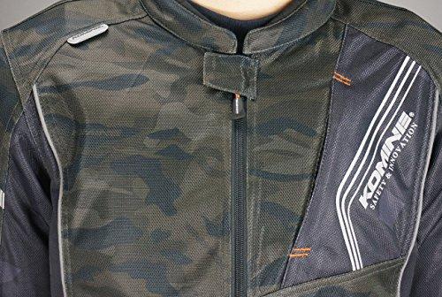 プロテクトフルメッシュジャケット Black JK-128 Camo/ コミネ 2XLサイズ (KOMINE)