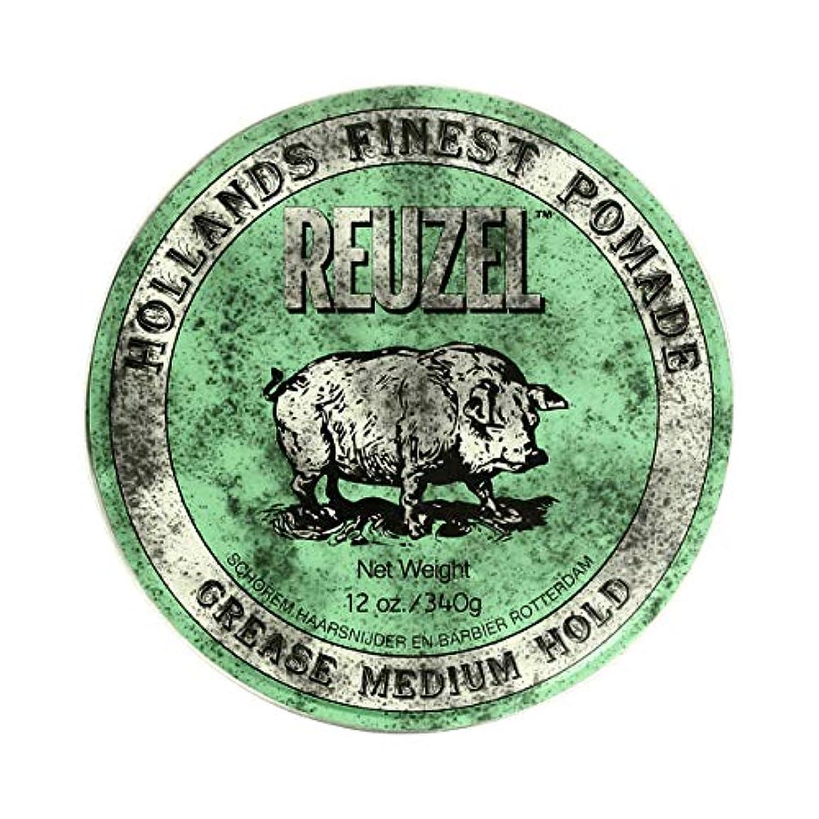 渇き義務的楕円形REUZEL ルーゾー グリースポマード ミディアムホールド 340g[海外直送品] [並行輸入品]