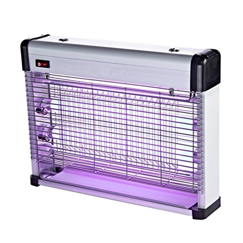 わずらわしいコンソール冷蔵するLIXIONG 蚊ランプ 壁掛け/デスクトップ 電気ショックタイプ ミュート レストラン 家庭 商業の 害虫駆除灯、 アルミニウム