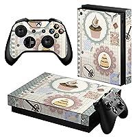 igsticker Xbox One X 専用 スキンシール 正面・天面・底面・コントローラー 全面セット エックスボックス シール 保護 フィルム ステッカー 005176