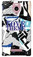 SECOND SKIN Code;C 「LOVE THEME」 / for AQUOS PHONE Xx 302SH/SoftBank SSH302-ABWH-177-K049