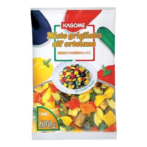カゴメ 冷凍野菜 菜園風グリル野菜のミックス 600g 冷凍