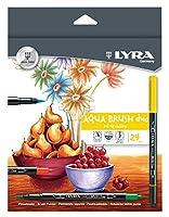 LYRA Aqua Dup Brush Painters, Set of 24 Pens, Assorted Colors (6521240)