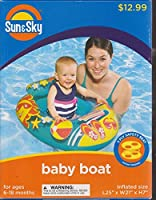 Sun & Sky Inflatable Baby Boat Swimming Pool Seat by SunSky
