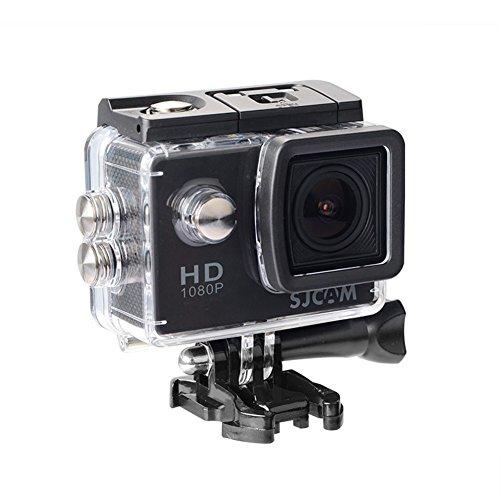 「SJCAM正規品」SJ4000(2インチ 2016NewVer.) 1080P HDMI出力 30m防水 170度広角レンズ スポーツカメラ マリンスポーツやウインタースポーツに 必須! バイクや自転車、カートや車に取り付け可能なスポーツカメラ HD動画対応 コンパクトカメラ