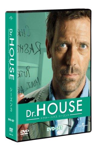 Dr. HOUSE/ドクター・ハウス シーズン3 【DVD-SET】