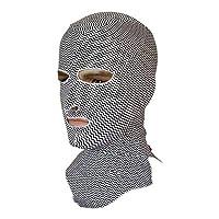 Janjunsi 夏 スイミング フェースマスク 虫防止 防塵 Facekini ダイビング 水泳スポーツ 男女兼用 UVカット フェース保護 アクセサリー