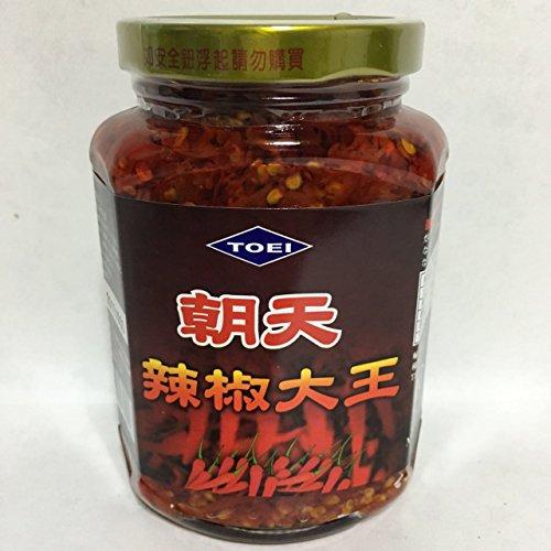台湾辣椒大王 唐辛子具入りラー油 激辛 中華調味料 炒め物やラーメンに欠かせない 380g