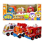 pororo(ポロロ) Rescue Play Toy Car(並行輸入品)
