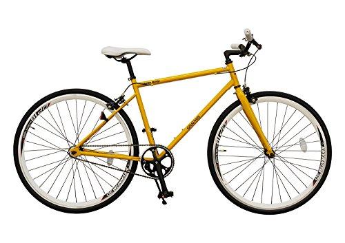 My Pallas(マイパラス) GRAPHIS(グラフィス) ピストバイク 700C カラー/イエロー GR-003