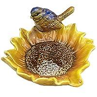 多目的 セラミック シャワーソープディッシュ/クリエイティブソープホルダー/ジュエリー装飾的な皿/灰皿(バード#02)