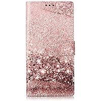 Docrax Galaxy Note10 ケース 手帳型 スタンド機能 財布型 カードポケット マグネット ギャラクシー ノート Note 10 手帳型ケース レザーケース カバー - DOYHU020345 D5