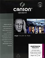 キャンソン 写真用紙 インフィニティ フォトサテン・プレミアム・RC A2 25枚 00001663 【正規輸入品】