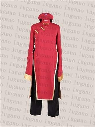 LUGANO Axis powers ヘタリア にょたりあ 中国娘 2Pカラー風 クリスマス ハロウィン イベント仮装 コスチューム コスプレ衣装 (女L)