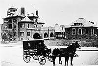 Gatsbe Exchange an 8x 10フォトhorse-drawn-ambulance-in-1896-atlanta-for-grady-hospital