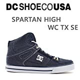 DC SHOE(ディーシーシュー) DC スニーカー ハイカット SPARTAN HIGH WC TX SE /ネイビー(NN1)  ディーシーシュー,DC shoes スニーカー 26cm