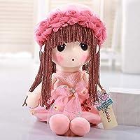 ガーゼぬいぐるみ 花仙女 絨の人形 かわいい人形 四つのサイズは選択できます (ピンク, 60cm)