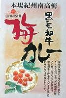 ★30箱セット★ 黒毛和牛カレー 梅肉入り200g (1ケース=30箱セット)(箱入) 【全国こだわりご当地カレー】