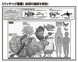 150ピース ジグソーパズル くらべる図鑑[新版] 巨大生物大きさくらべ ラージピース(26x38cm) 画像